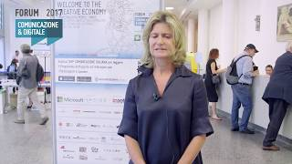 Youtube: Intervista a Carlotta Ventura | Ferrovie dello Stato Italiane | WELCOME TO THE CREATIVE ECONOMY | Forum Comunicazione 2017