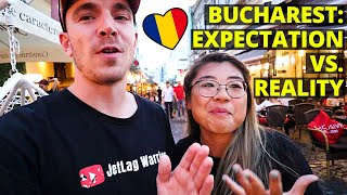 First Impressions of Bucharest, Romania! 🇷🇴 (We did not expect this!) - ROMANIA TRAVEL VLOG