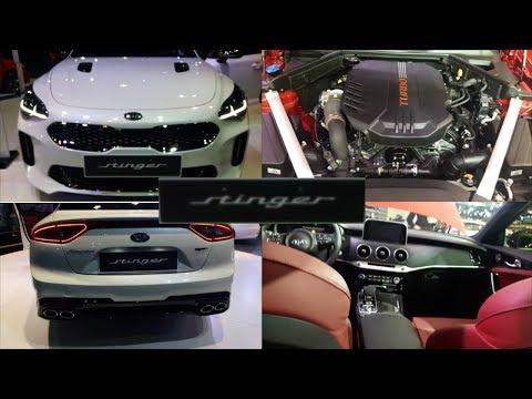 The All New Kia Stinger GT 2018 – Interior & Exterior Preview.
