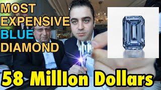 45 million Dollars Diamond in My Hand! Geneva, Switzerland