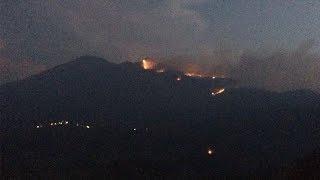 Kebakaran Lahan di Gunung Merbabu Meluas hingga Ratusan Hektare, Api Mengarah ke Pemukiman Penduduk
