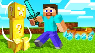 MINECRAFT But MOBS Are LUCKY BLOCKS! (Amazing LOOT!)
