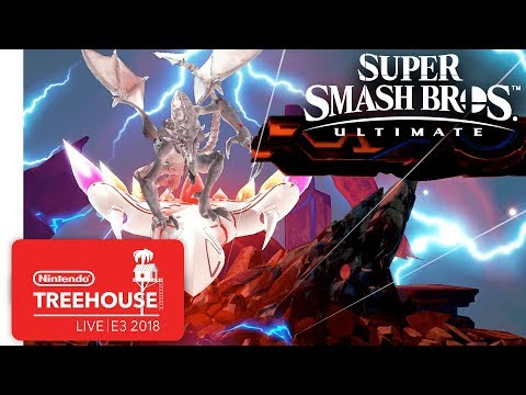 Super Smash Bros. Ultimate Gameplay Pt. 3 - Nintendo Treehouse: Live | E3 2018 thumbnail