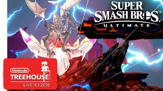 Super Smash Bros. Ultimate Gameplay Pt. 3 - Nintendo Treehouse: Live | E3 2018 - dooclip.me
