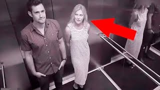 Weird And Funny Elevator Moments Caught On Camera