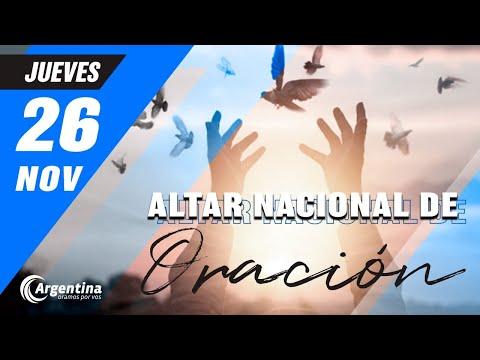 Altar Nacional de Oración | Jueves 26 de noviembre 2020
