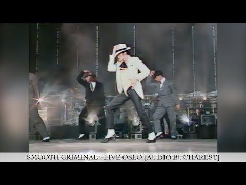 Michael Jackson - Smooth Criminal [60FPS] | Dangerous Tour Live Oslo | Enhanced [Audio Bucharest]