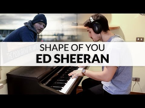 Ed Sheeran - Shape Of You | Piano Cover