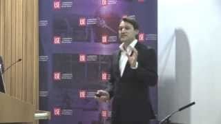 """Dr. Rolf Dobelli speaking at LSE -- London School of Economics -- """"The Art of Thinking Clearly"""""""