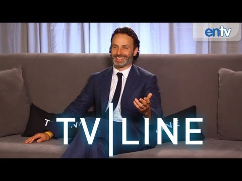 The Walking Dead - Comic-Con 2013 - Andrew Lincoln Interview [VIDEO]