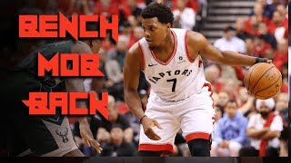 BENCH MOB IS BACK - Kyle Lowry TAKES CHARGE in Blow-Out WIN - Raptors Bucks Game 4 Reaction