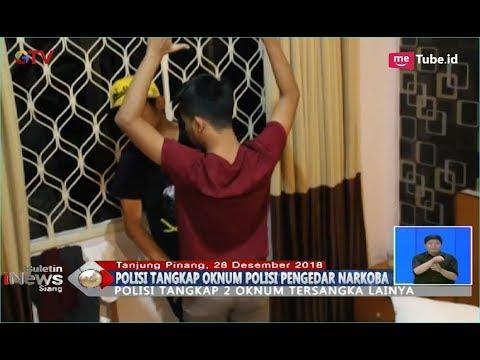 Satnarkoba Polres Tanjung Pinang Tangkap Oknum Polisi Pengedar Narkoba - BIS 29/12