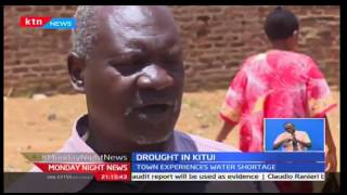 Monday Night News: Kitui residents experience drought, 17/10/2016