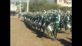 preview picture of video 'Banda de guerra 3er Batallón Cristiano Morisma de Guadalupe,Zac Parte 2'