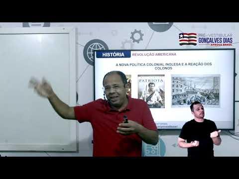 Aula 04 | Revolução Americana - Parte 01 de 03 - História