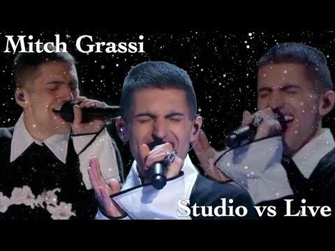 Mitch Grassi's High Notes | Studio vs Live