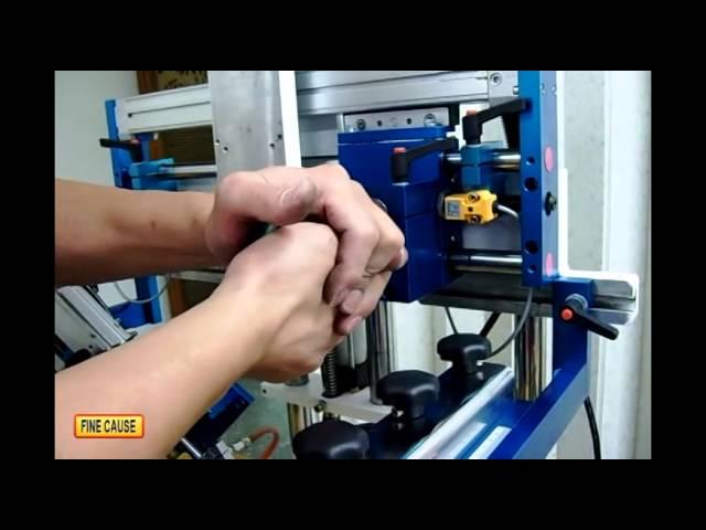 FA-網印機系列 - 曲面網印機更換平面網印機教學