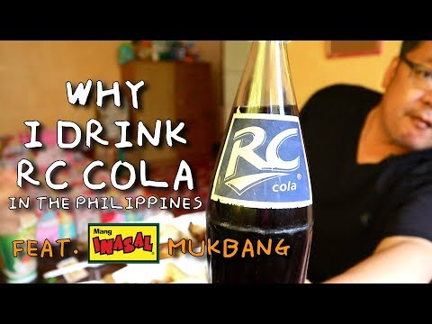 Why I drink RC Cola in the Philippines | Mang Inasal Mukbang