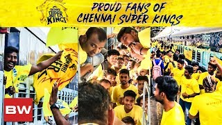 VIDEO: CSK Fans Mass Show | Whistlepodu Express