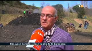 preview picture of video 'VOTV - Cànoves i Samalús encén la pila de la Carbonera'
