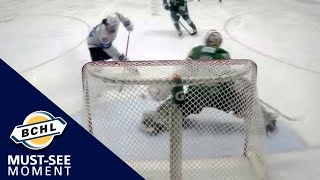 Must See Moment: Nathan Airey foils a two-on-one with a pad stop