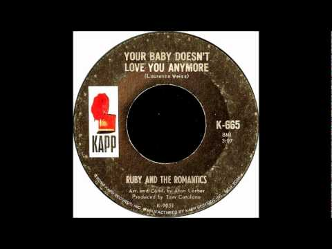 Your Baby Doesn't Love You Any More-Ruby & Romantics-'1965- 45-Kapp 665.wmv