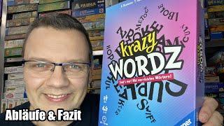 Krazy Wordz (Ravensburger) - ab 10 Jahren - verrücktes Wörterspiel