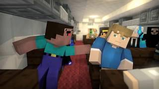 Zombie Vs Villager Life 3   Alien Being Minecraft Animation 2 3 4 5 6 7