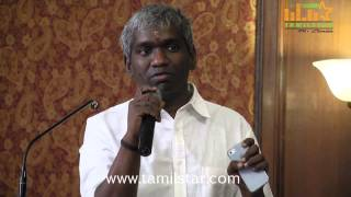 Karthik Raja at Raja vin Sangeetha Thirunaal Press Meet