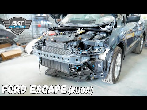 Ремонт Ford Escape (kuga) Часть 2. Находим скрытые дефекты - АКТ Моторс
