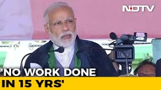 Congress Ruined Manipur, Says PM Modi At Imphal Rally