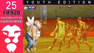 Fifa 20 Youth Academy Career Mode Ep 25 - GINGER BEARD !!! - Salford City - Youth Edition
