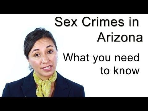 Sex Crimes in AZ explained by Criminal Defense Lawyer Cindy Castillo