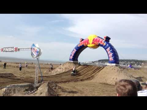 Red bull  racing at weston super mare 2013