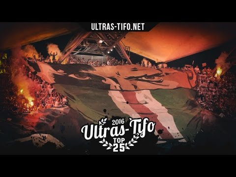 Top 25 TIFO actions in 2016 by ultras-tifo.net