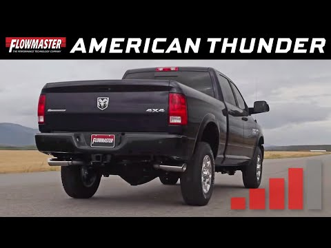2014-19 RAM 2500 6.4L - American Thunder Cat-back Exhaust System 817709