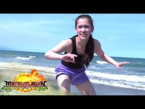 "Daniel Cordial teaches Jackie ""Ate Girl"" Gonzaga how to surf 