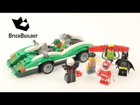 Vidéo LEGO The Batman Movie 70903 : Le bolide de l'Homme-mystère
