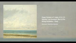Organ Sonata in F major, B 4.I.12