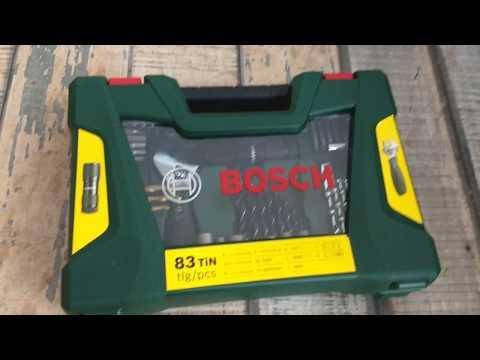 Kit de ferramentas Bosch 83 peças V LINE é bom? Presente para dia dos pais