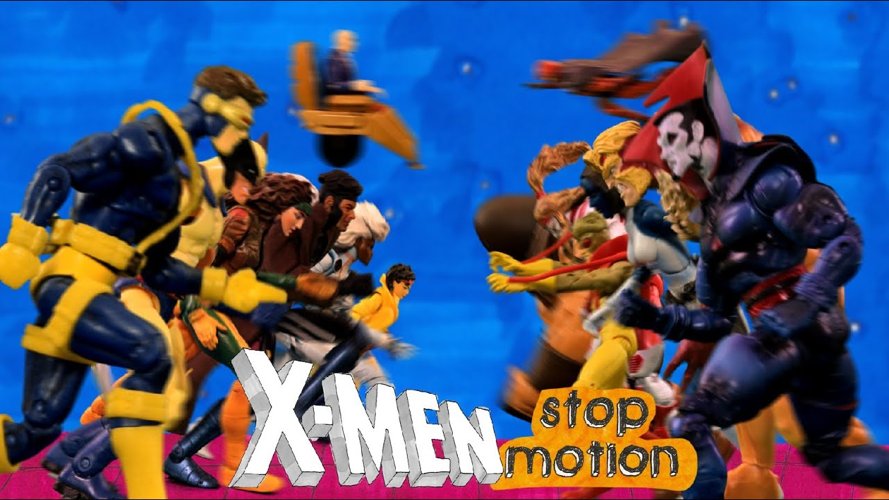 The '90s X-Men Intro In Stop Motion Is Pure Nerd Bliss