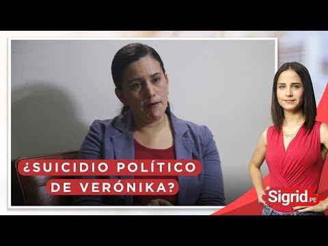 ¿Suicidio político de Verónika Mendoza?   Sigrid.pe