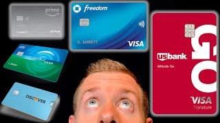 5 BEST CREDIT CARDS For Beginners 2020 (Cash Back Credit Cards)