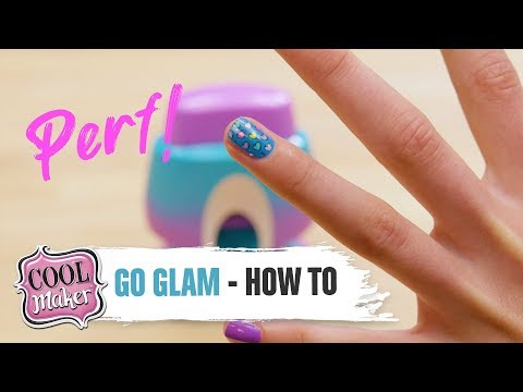 Cool Maker | GO GLAM Nail Stamper | How To