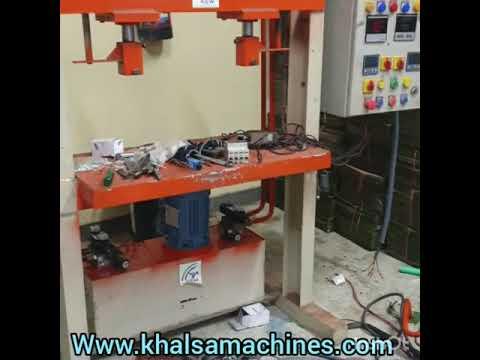 Hydraulic Paper Plate Double Die Machine