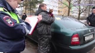 Бывший сотрудник ГБДД пьяный за рулём задержан в Кингисеппе