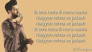 Baarishein Atif Aslam Lyrics
