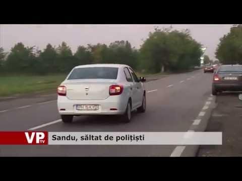 Sandu, săltat de polițiști