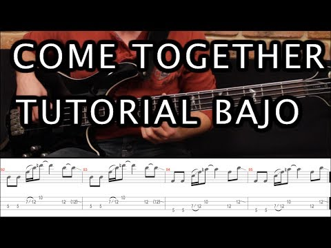"Como Tocar ""Come Together"" De The Beatles - Tutorial Bajo (HD) Mp3"