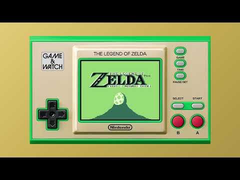 Game&Watch Zelda  - Présentations - Présentation au Nintendo Direct du 15/06/2021